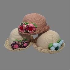 Шляпка для девочки 48 (HAT5-5)