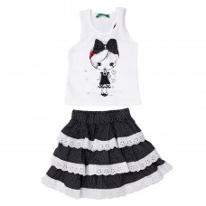 Комплект юбка майка