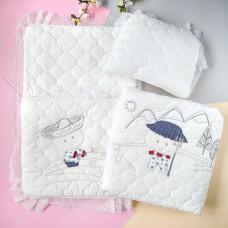 Комплект:Конверт, одеяло, подушка