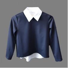 Комплект: блуза с регланом